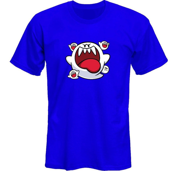 Remeras Super Mario Bros Boo *mr Korneforos*