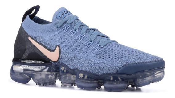 Zapatillas Nike Air Vapormax 2 Azul Acero