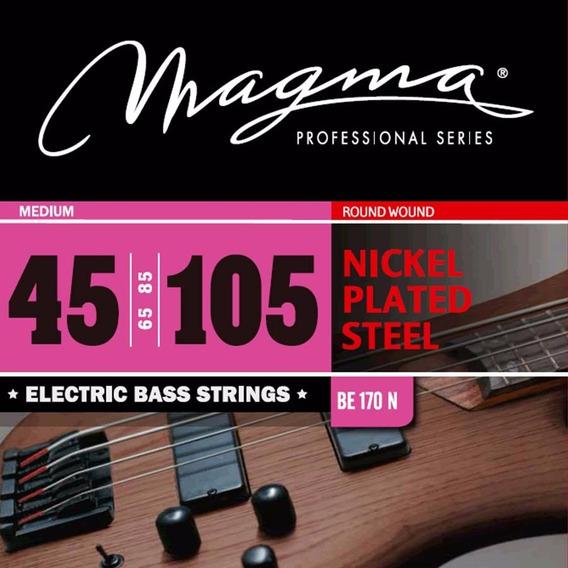 Encordado Bajo Electrico Magma 045 Be170n 4 Cuerdas - Oddity