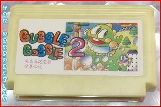 Cartucho Juego Bubble Bobble Part 2 Para Family Game Famicom