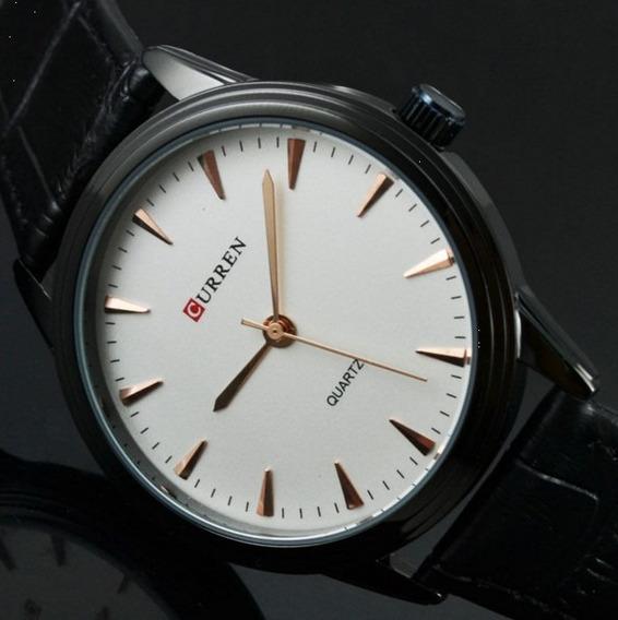 Relógio De Luxo Marca Curren Modelo- 8119- C-06