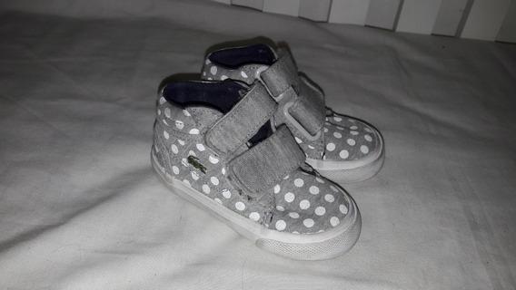 Zapatillas N°19 Excelente Estado Lacoste Originales Hermosas