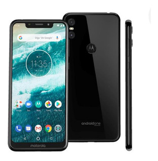 Celular Motorola One Preto 64gb