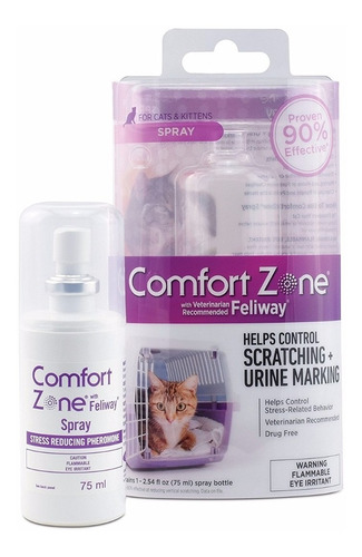 Feliway Spray For Cat Calming 75 Ml