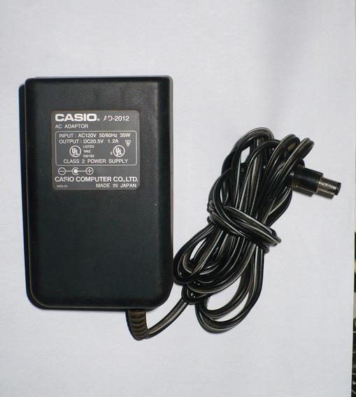 Fonte Casio Ad-2012 - 20,5v- 1,2a - 110v