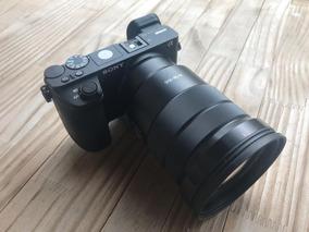 Sony A6500 + Lente 18-105mm + 4 Baterias + 1 Cartão Sd 32gb