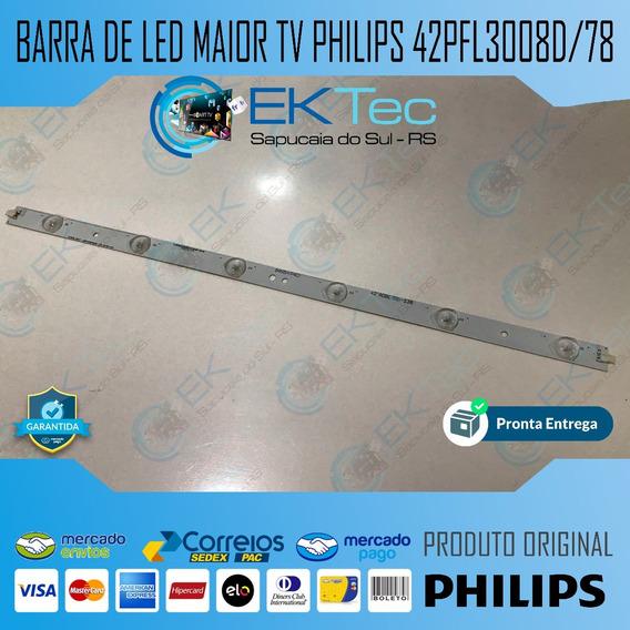 Barra De Led Maior (6) Tv Philips 42pfl3008d/78 Original