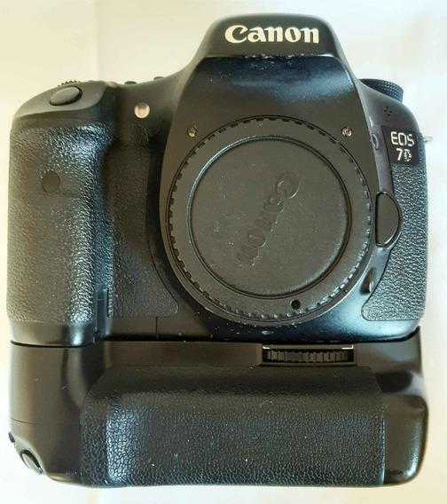 Canon 7d + Grip + 2 Baterias +1 Cartão 8gb