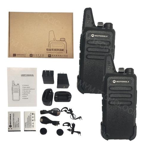 Walkies Talkies Radios Comunicación Motorola C1 Profesional
