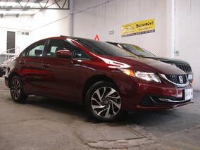 Honda Civic Ex Sedán Automático Qc Bluetooth Factura Agencia