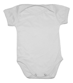 Body Infantil Bebê Para Sublimação 100% Poliester Kit C/ 12