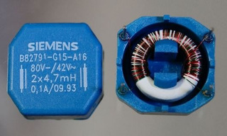Bobina /inductor 4.7mh (2x) Interference Filter, 0.1 A (2x)