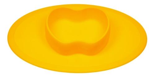 Imagem 1 de 4 de Jogo Americano Com Pratinho De Maçã Amarelo - Winly
