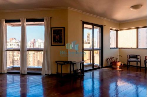 Imagem 1 de 30 de Apartamento Alto Padrão 223m² À Venda Com 4 Quartos 4 Suítes E 6 Vagas Em Perdizes-sp - Bg21-233