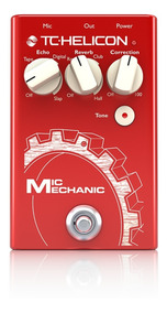 Pedal Para Vocal Tc Helicon Mic Mechanic 2 *