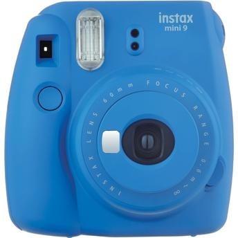 Camera Instax Mini 9 Instantanea Fujifilm Azul Cobalto
