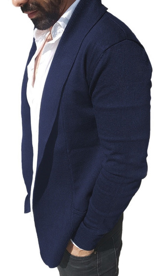 Cardigan / Sweater / Chaleco Fashion Hombre Slimfit