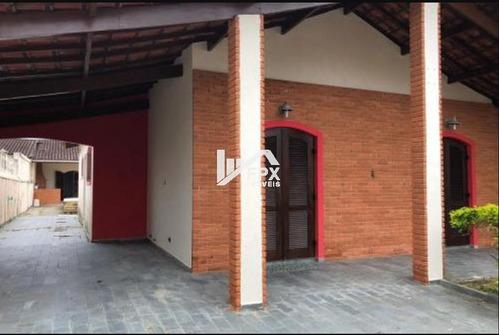 Casa Com Piscina Em Itanhaém, Lado Praia Ca072