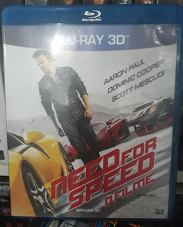 Bluray 3d Need For Speed O Filme - Original