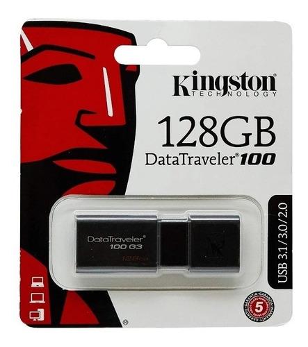 Pendrive Kingston Original 128 Gb Usb 3.1/3.0/2.0 (26$)