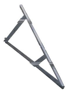 Triangulo Aluminio 40x50x4 Para Soportes De Panel Solar