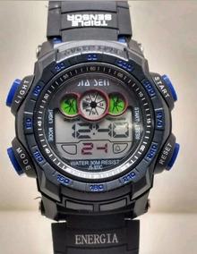 Relógio Masculino Jia Sen Digital Esporte Preto