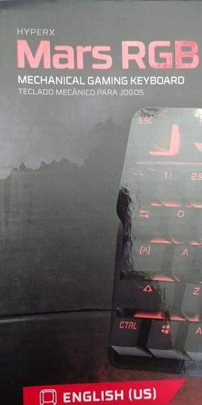 Teclado Mechanical Gaming Keyboard Mars Rgb Novo