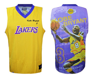 Camiseta Lakers Basquet Homenaje Kobe Bryant Licencia Ofic