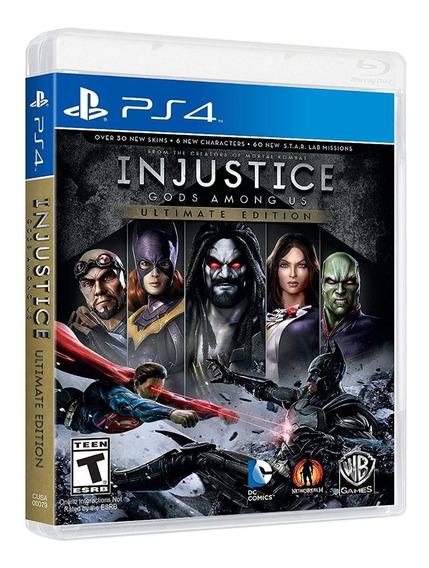 Injustice Ultimate Edition Ps4, Nuevo, Sellado