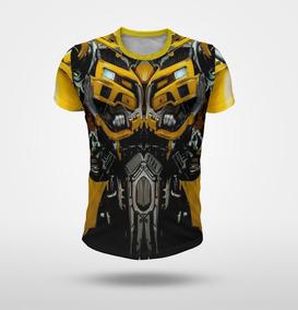 Remera Bumblebee Transformers Tipo Traje Robot Full Print