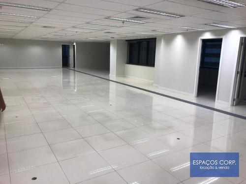 Laje Corporativa Para Alugar, 412m² - Brooklin - São Paulo/sp - Lj0660
