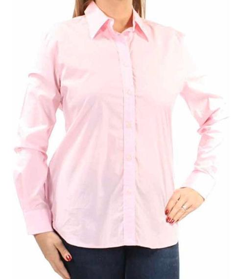 Camisa Ralph Lauren Para Mujer Rosa Original Mediana