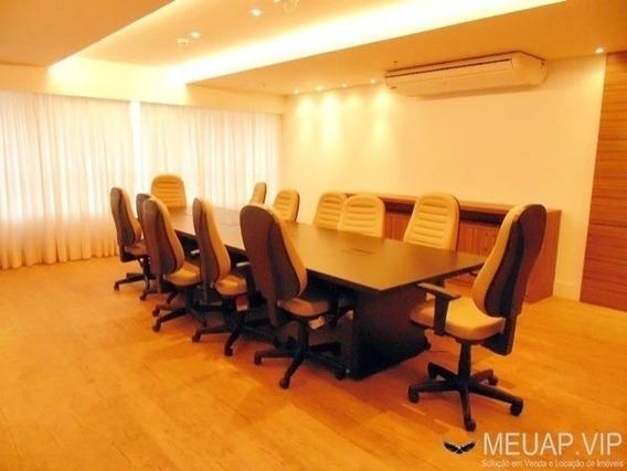 Sala Comercial Para Alugar Em Santos - Legacy Tower - Sl251 - 34457489