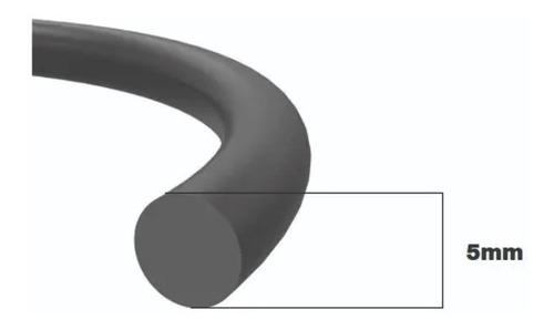 Cordão Esponjoso Borracha Vedação Vibracão  5mm 10 Metros