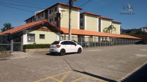 Apartamento Com 2 Dormitórios À Venda, 54 M² Por R$ 180.000,00 - Village - Itaquaquecetuba/sp - Ap0160