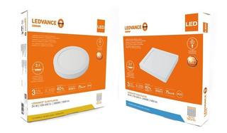Panel Plafon Led Osram Ledvance 24w - Dual Embutir Y Aplicar