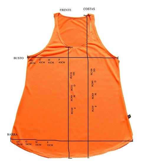 10 Blusas Regatas Feminina Furadinha Nadador Dry Fit 36/44