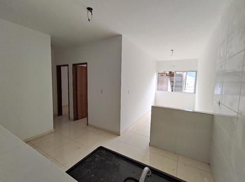 Apartamento À Venda, 58 M² Por R$ 160.000,00 - Parque Das Bandeiras - São Vicente/sp - Ap5936