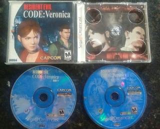 Resident Evil Code Veronica - Envio Grátis Carta Registrada