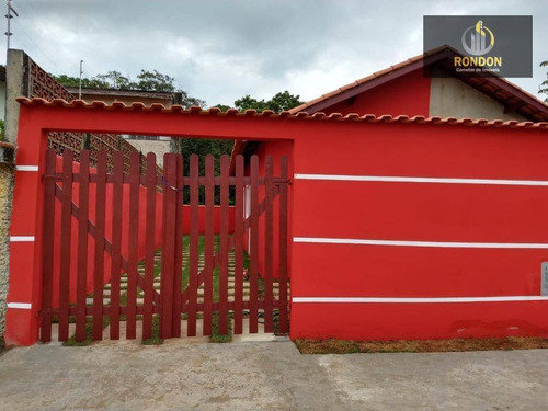 Casa Com 2 Dormitórios À Venda, 50 M² Por R$ 135.000 - Jardim Lindomar - Itanhaém/sp - Ca1163