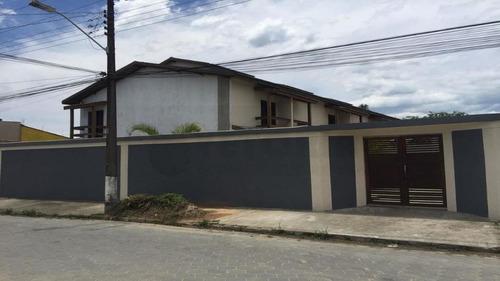 Sobrado Residencial À Venda, Pontal De Santa Marina, Caraguatatuba. - So0034
