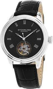 Reloj Hombre Casual Cuero Acero Inoxidable 780.02 Stuhrling