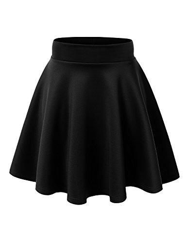 Falda Para Mujer Hecha Por Johnny Basico Versatil Y Elastica