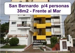 Alquiler En San Bernardo Frente Al Mar - 1 Cuadra Del Centro