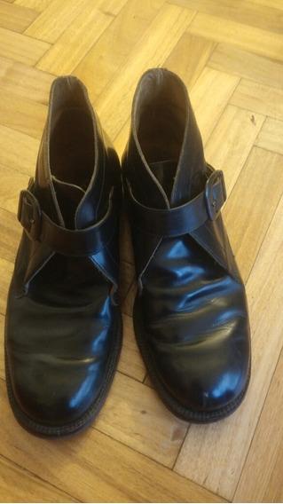 Zapatos Abotinados Hombre Cuero Regulables Soho 42.5
