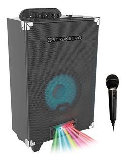 Parlante Portátil Bluetooth Stromberg Luces Mp3 + Microfono*