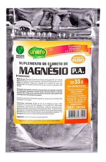 Unilife Cloreto De Magnesio Pa Sache 33g
