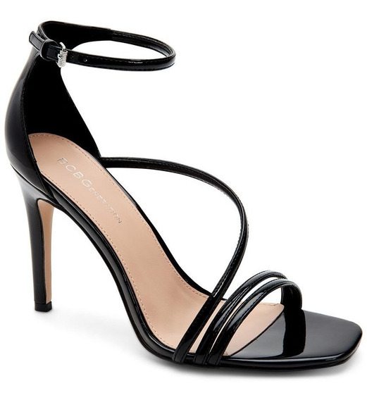 Isabel Smooth Patent Black Bcbg