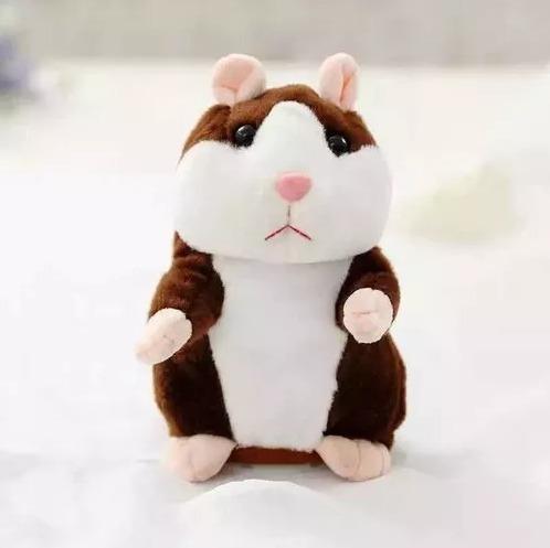Hamster Falante Repete Tudo Que Criança Fala Presente