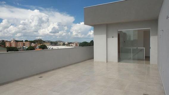 Cobertura Com 2 Quartos Para Comprar No Santa Mônica Em Belo Horizonte/mg - 1332
